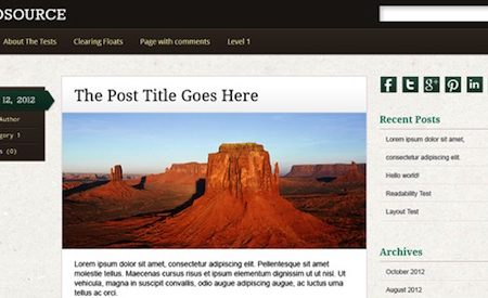 Infosource Theme for WordPress