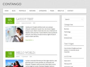 Contango Theme for WordPress