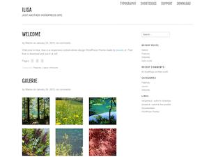 Ilisa Theme for WordPress