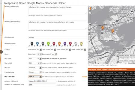 Responsive Styled Google Maps for WordPress