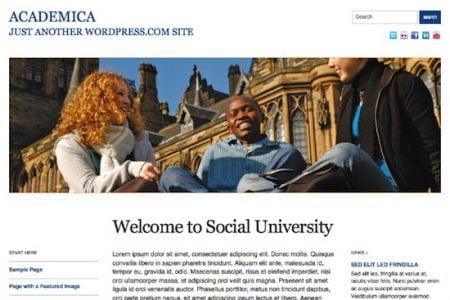 Academica Theme for WordPress