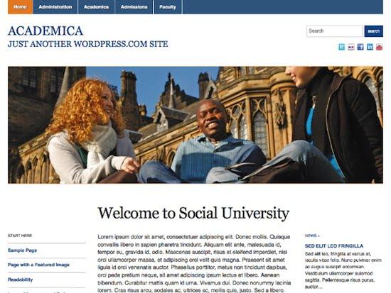 Academica Theme