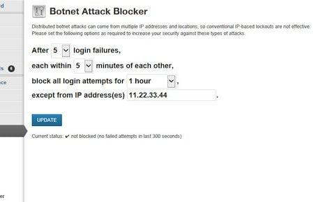 WordPress Botnet Attack Blocker
