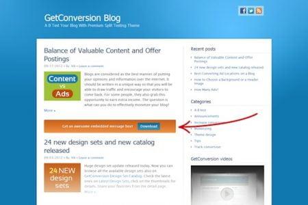 GC Message Box for WordPress