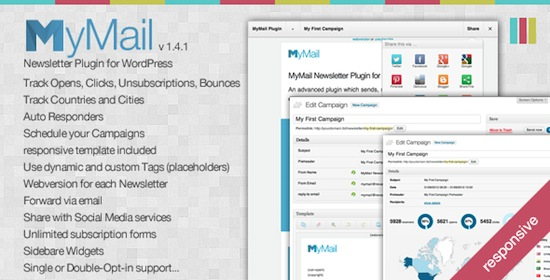 MyMail - Email Newsletter Plugin