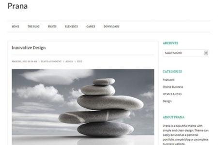 Prana Theme for WordPress