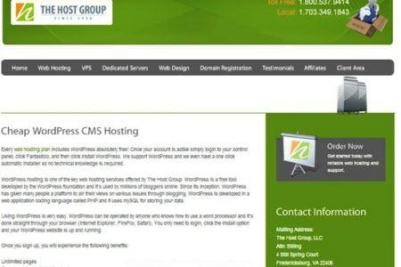 The Host Group Announces Enhanced WordPress Hosting Plans
