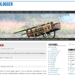 nano blogger theme for WordPress