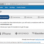 WordPress.com boosts security with two-factor authentication