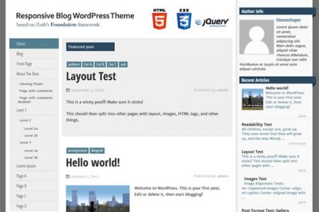 SmartAdapt Theme for WordPress