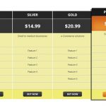 WP Pricing Table WordPress Plugin