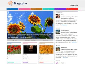 Xin Magazine Theme for WordPress