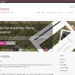 m1 Theme for WordPress