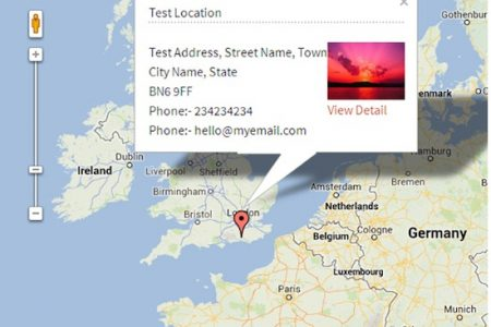 Google Map Locations for WordPress
