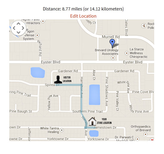 Google Maps and Distance Finder
