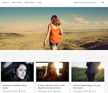 Inkness Theme for WordPress