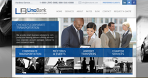 LimoBank Transportation Chicago Announces  New WordPress Website
