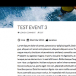 WordPress Super Simple Events Plugin