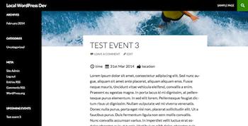 WordPress Super Simple Events Plugin