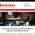 Modern Business Theme for WordPress