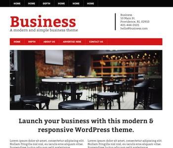 Modern Business Theme for WordPress