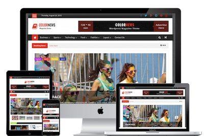 Colornews News Theme for WordPress