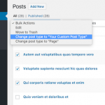 Bulk Actions Plugin for WordPress