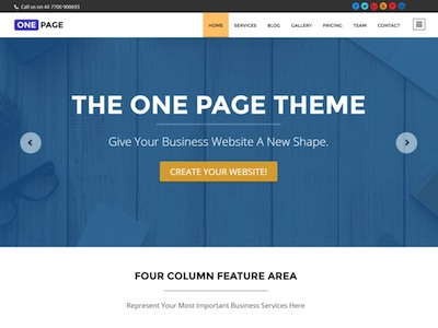 one-page-theme