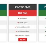 Pricing Table Plugin for WordPress