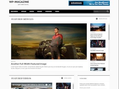 WP-Magazine Theme by solostream
