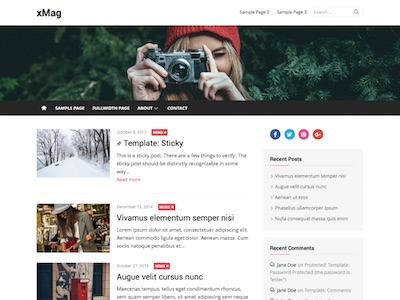 xMag WordPress Magazine Theme