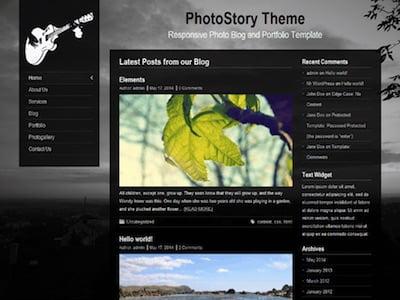 PhotoStory WordPress Theme