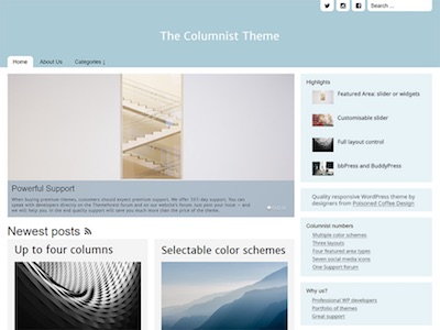 The Columnist WordPress Theme