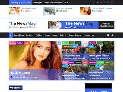 The NewsMag WordPress Theme