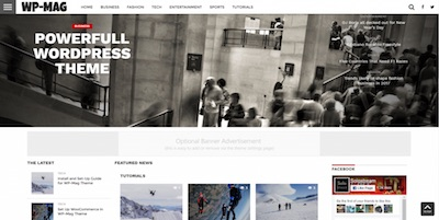 solostream WP-Mag Theme