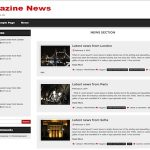 Magazine News Theme for WordPress