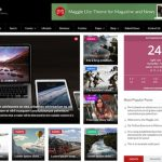 Maggie Lite  WordPress Magazine Theme
