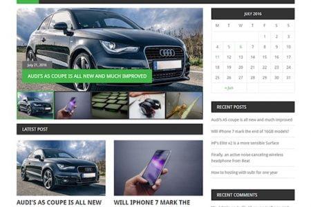 MekaNews Lite WordPress News Theme