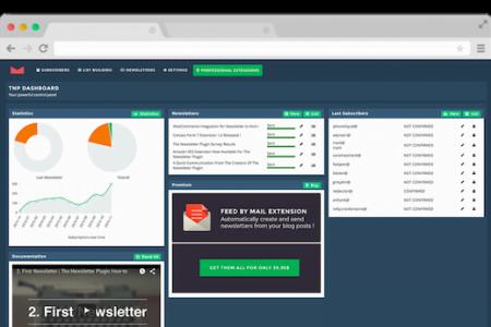 Newsletter List Building Plugin for WordPress