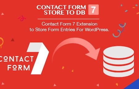 Contact Form 7 Store to DB Plugin