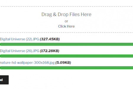 Contact Form 7 Drag and Drop Multiple File Uploader