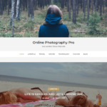 Online Photography Theme for WordPress