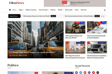 Ultra News Theme for WordPress