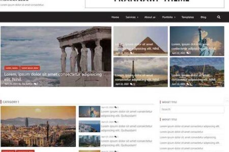 FrannaWP Lightweight WordPress Theme