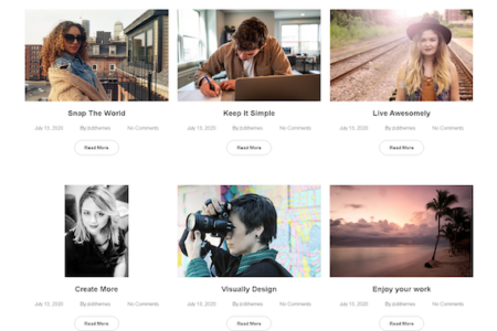 Photography Business WordPress Theme