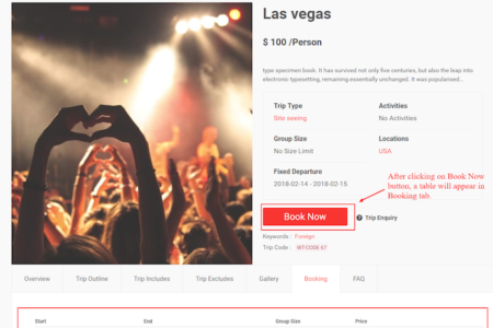 WP Travel WordPress Travel and Tour Booking Plugin