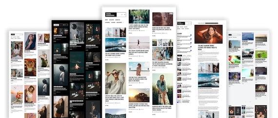 Minimal Photography Free WordPress Theme